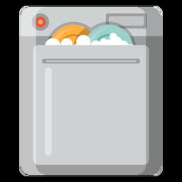 Icono de la máquina lavavajillas