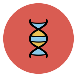 Dna chain icon