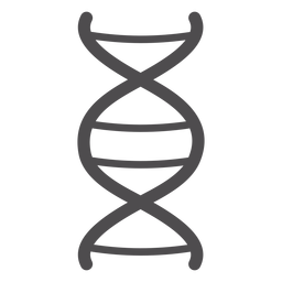 Dna chain stroke icon