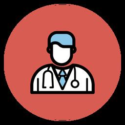 Icono de doctor avatar