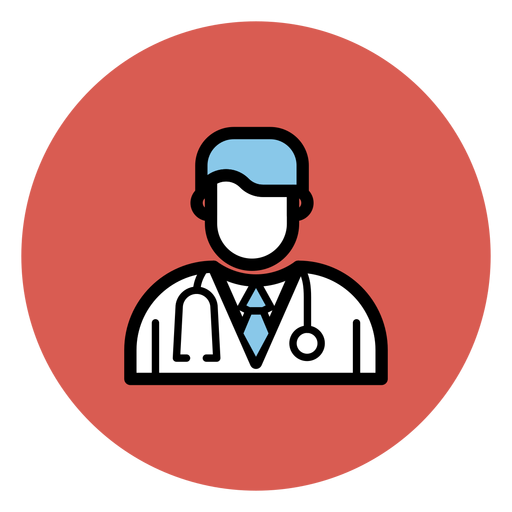 Doctor avatar icon Transparent PNG