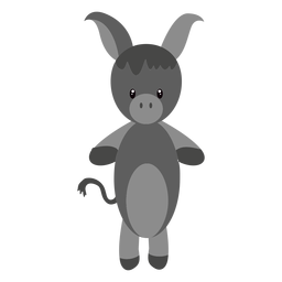Donkey character illustration