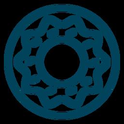 Donut-Strich-Symbol