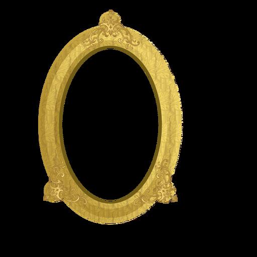 Marco dorado elegante