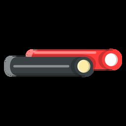 Icono de palitos de regaliz rellenos