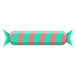 Foiled caramel candy icon