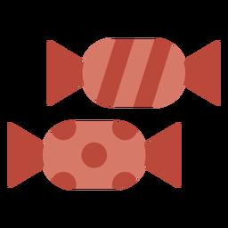 Icono de caramelos duros fritos
