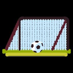 Campo de jogos de objetivo de futebol