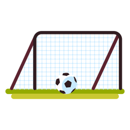 Football goal icon playground