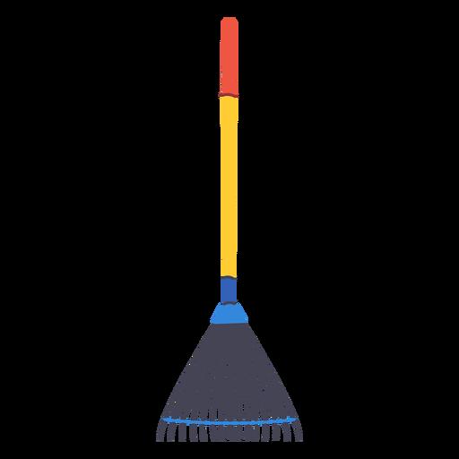 Garden leaf rake icon
