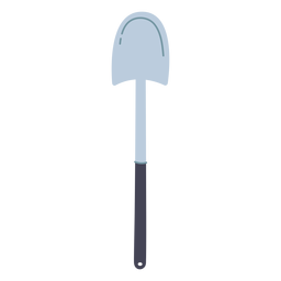 Garden shovel icon
