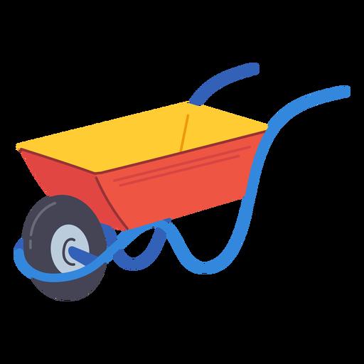 Garden wheelbarrow icon Transparent PNG