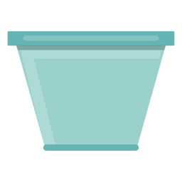 Icono de tazón de vidrio