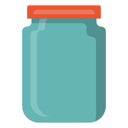 Ícone jarra de vidro