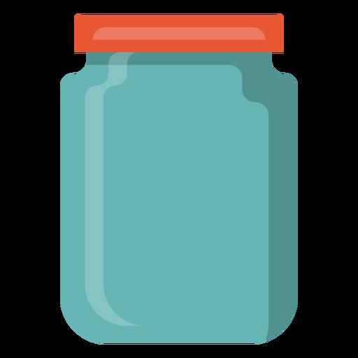 Icono de tarro de cristal