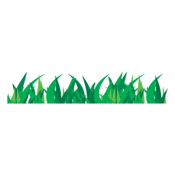 Grass turf illustration