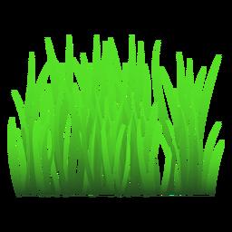 Ilustración de la hierba verde