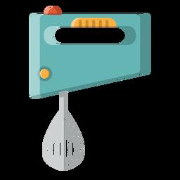 Mão, misturador, ícone, cozinha