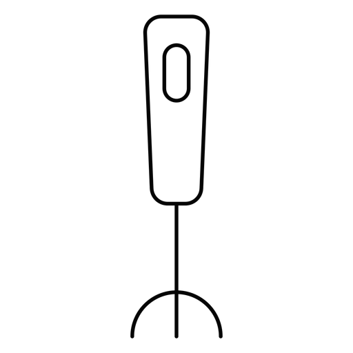 Golpe de batedor de leite portátil Transparent PNG