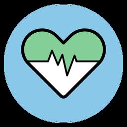 Ícone de ritmo cardíaco