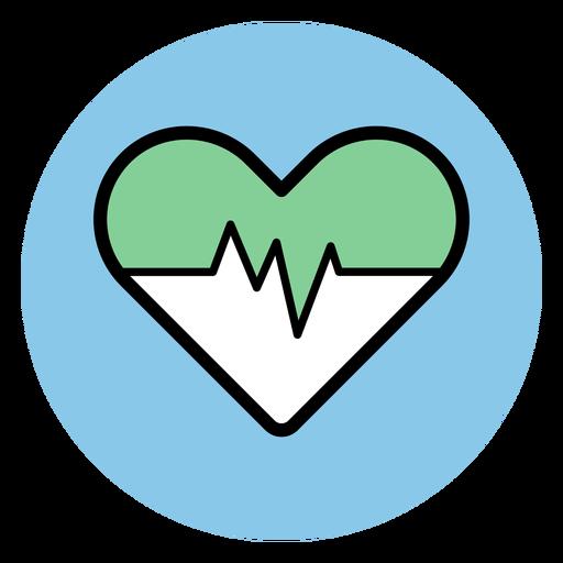 Ícone de ritmo cardíaco Transparent PNG