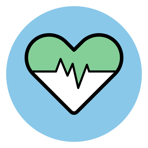 Heart rate icon Transparent PNG