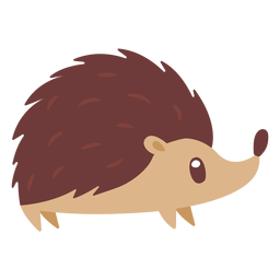 Hedgehog animal cartoon