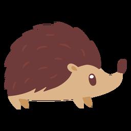 Ouriço animal dos desenhos animados