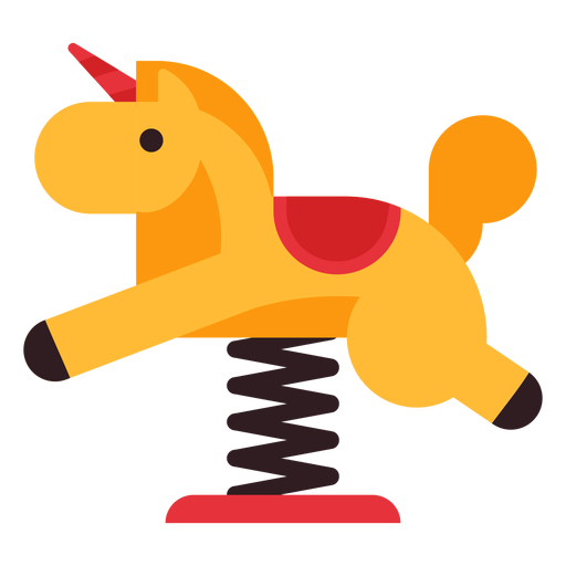 Horse spring rider icon Transparent PNG