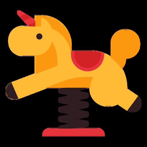 Icono de jinete de primavera de caballo Transparent PNG
