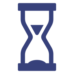 Hourglass stroke icon