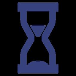 Ícone de traçado de ampulheta