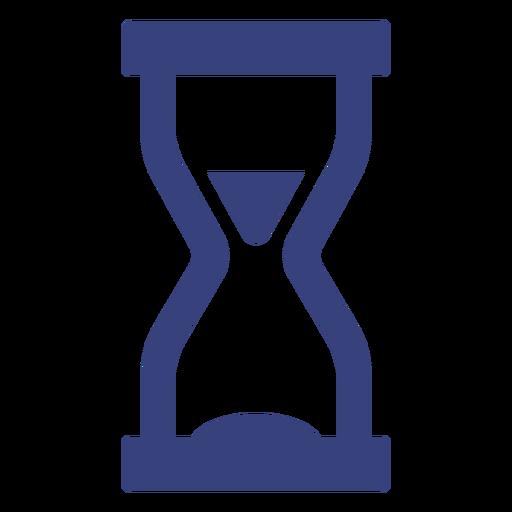 Icono de trazo de reloj de arena Transparent PNG