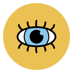 Human eye icon medical icons