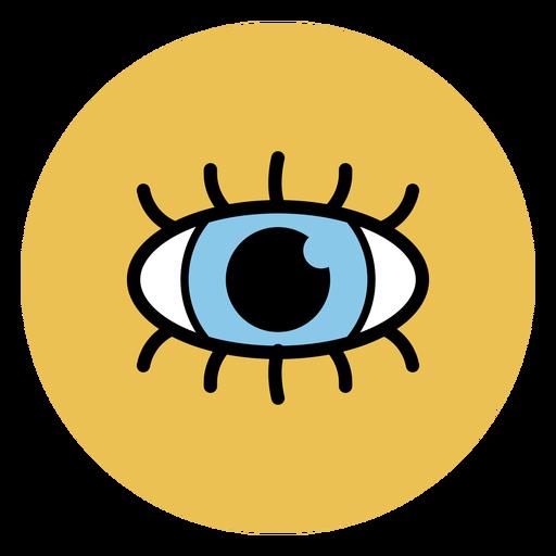 Human eye icon medical icons