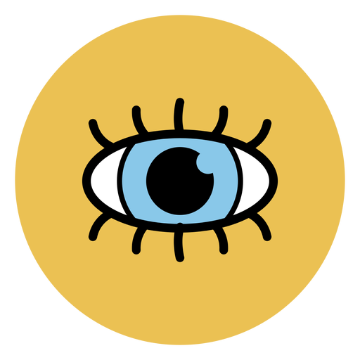 Iconos médicos del icono del ojo humano Transparent PNG