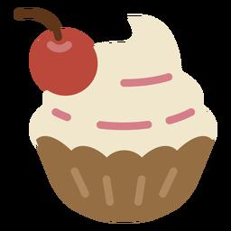 Icono de tazón de helado