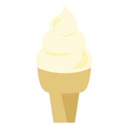 Eistüte-Cupcake-Symbol