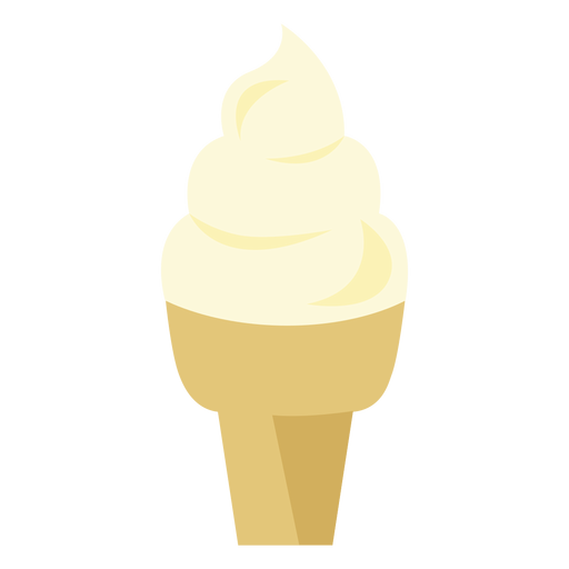 Ice cream cone cupcake icon Transparent PNG
