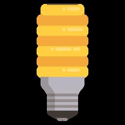 Icono de bombilla incandescente