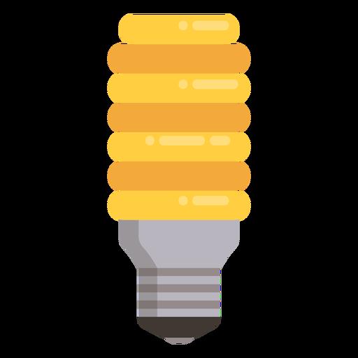 Icono de bombilla incandescente Transparent PNG