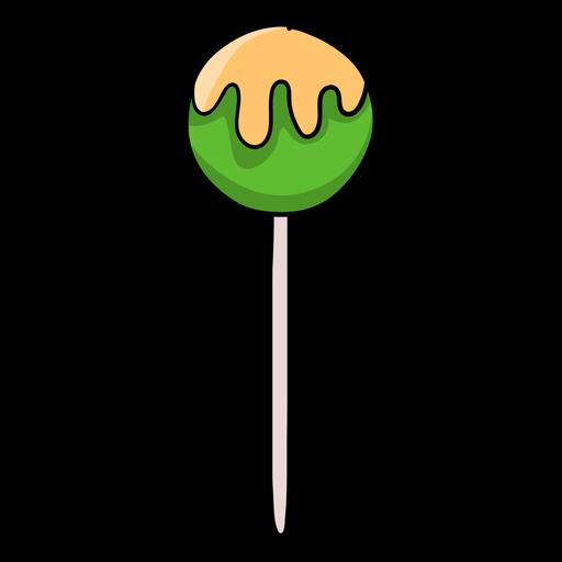 Jawbreaker lollipop cartoon Transparent PNG