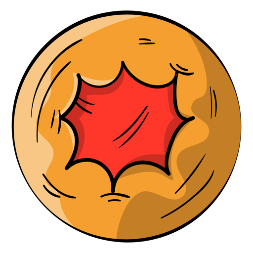 Jelly biscuit cartoon Transparent PNG