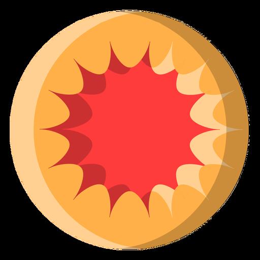Icono de galleta de gelatina