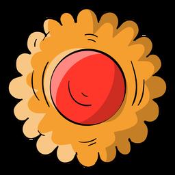 Dibujos animados de galleta de gelatina