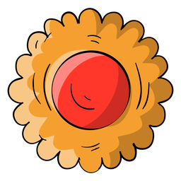 Jelly cookie cartoon