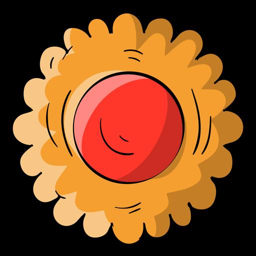 Dibujos animados de galleta de jalea Transparent PNG