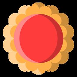 Icono de galleta de jalea