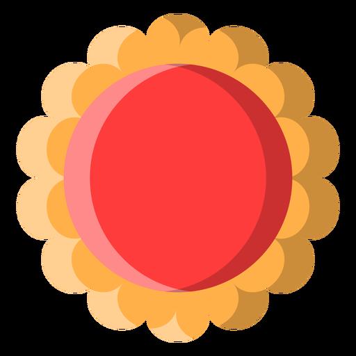 Icono de galleta de jalea Transparent PNG