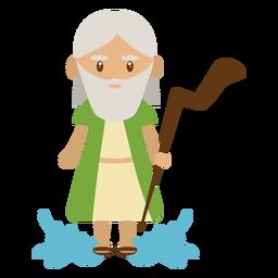 Ilustración del personaje de Jesucristo